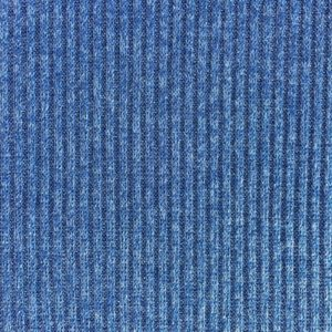 Ribbed Stretch Knit Fabric - Sparkly Royal Blue