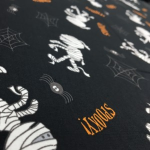 100% Cotton Halloween Prints - Spiders and Mummies