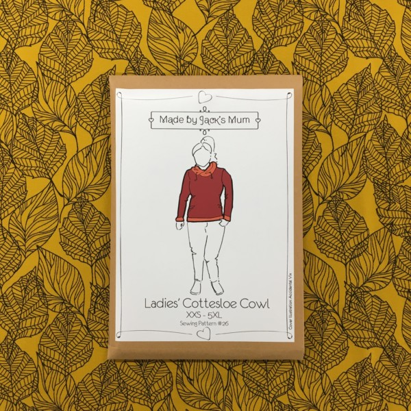 Made By Jack's Mum Cottesloe Cowl Sewing Pattern (Ladies)