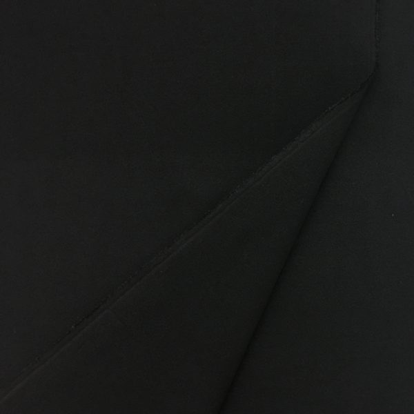 'Softcoat' Outerwear Fabric - Black