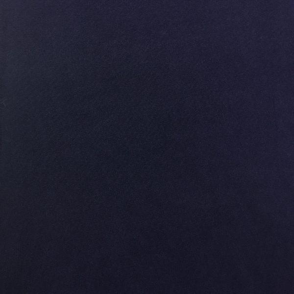 Super Soft 'Peachskin' Brushed Single Knit Jersey - French Navy