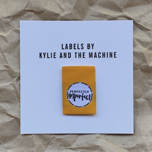 Pack of 8 Woven Sewing Labels by Kylie and the Machine - Perfectly Imperfect