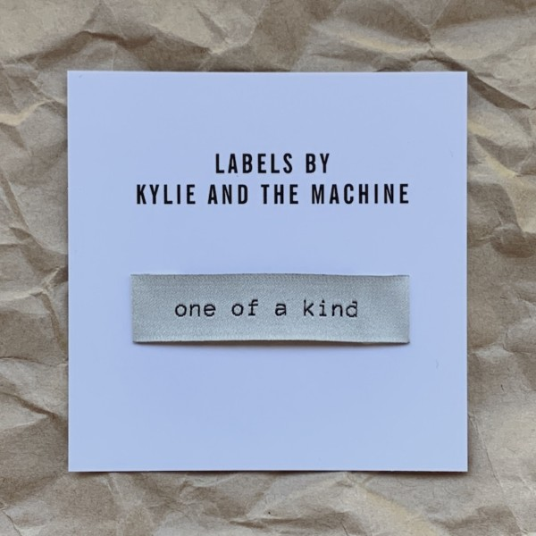Pack of 8 Woven Sewing Labels by Kylie and the Machine - One Of A Kind