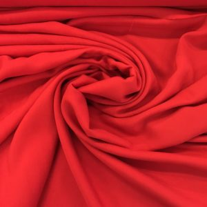 Plain Lightweight 100% Viscose - Red