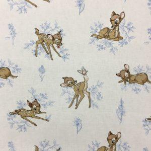 Disney 100% Cotton - Bambi Toile in Marina