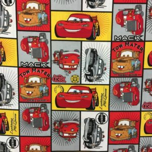 Disney Pixar 100% Cotton - Cars