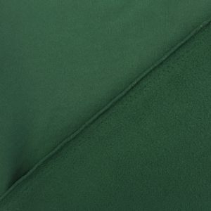 'Tech Fleece' - Fleece Backed Tricot Knit - Forest Green