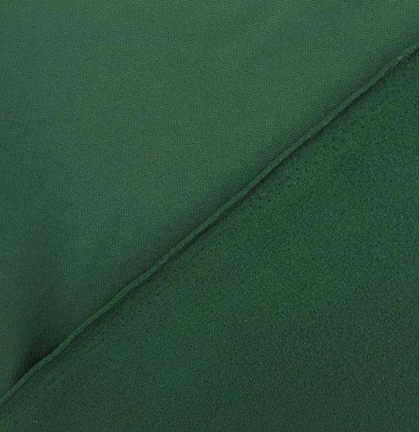 'Tech Fleece' - Fleece Backed Tricot Knit - Forest Green