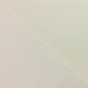 Fleece Backed Soft Shell Fabric - Cream