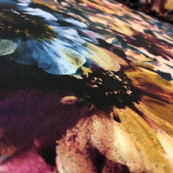 Lady McElroy Fabrics - Printed Scuba Jersey - Bold Botanical