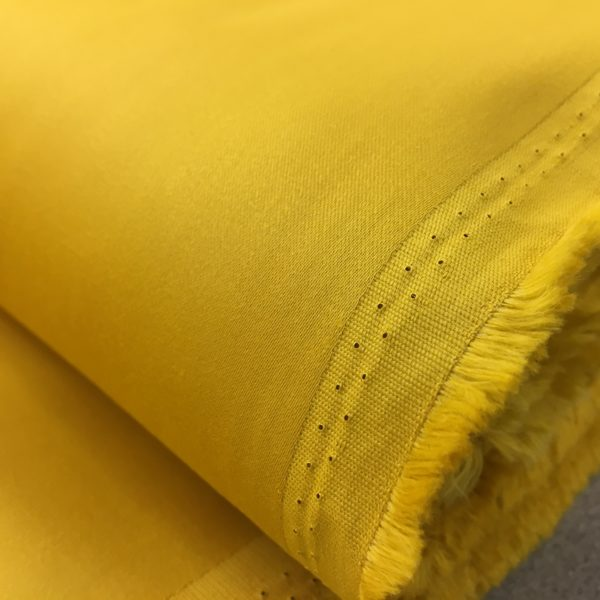Lady McElroy Cotton Spandex Sateen Drill - Old Gold