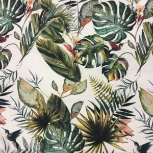 Lady McElroy Lightweight Crepe - Savannah Tropical Print