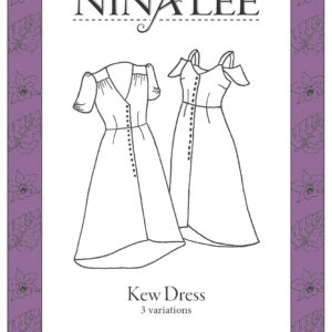 Nina Lee London Kew Dress Sewing Pattern