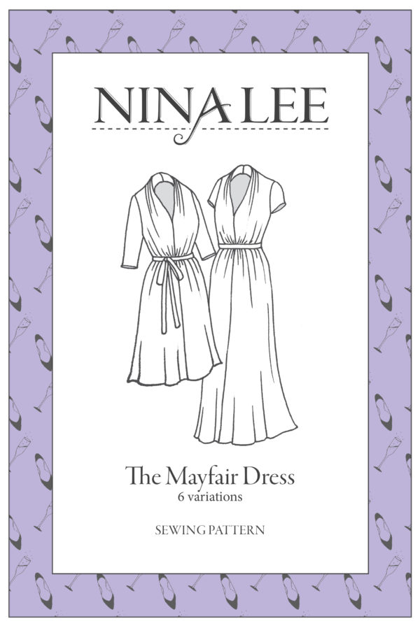 Nina Lee London Mayfair Dress Sewing Pattern
