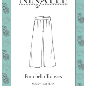 Nina Lee London Portobello Trousers Sewing Pattern
