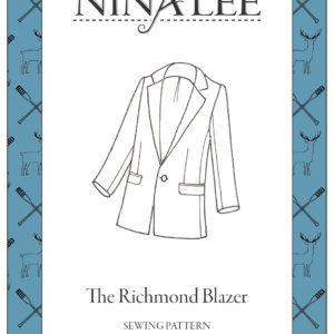 Nina Lee London Richmond Blazer Sewing Pattern
