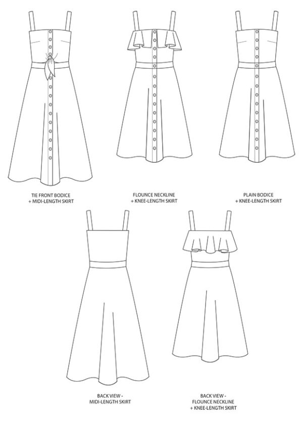 Tilly and the Buttons Seren Dress Sewing Pattern