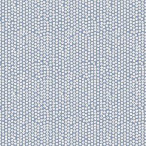 Fryetts Fabrics Scandi Spotty - China Blue