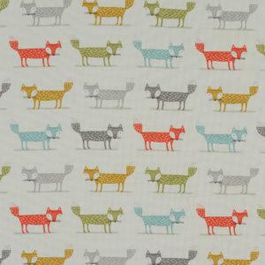 Fryetts Fabrics Foxy PVC - Multi