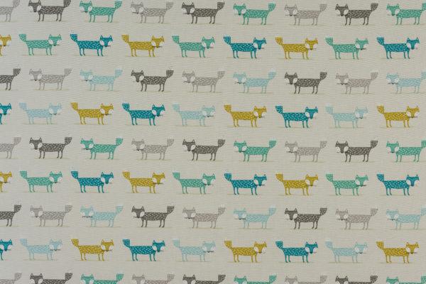 Fryetts Fabrics Foxy PVC - Teal