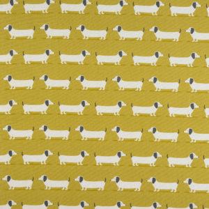 Fryetts Fabrics Hound Dog PVC - Ochre