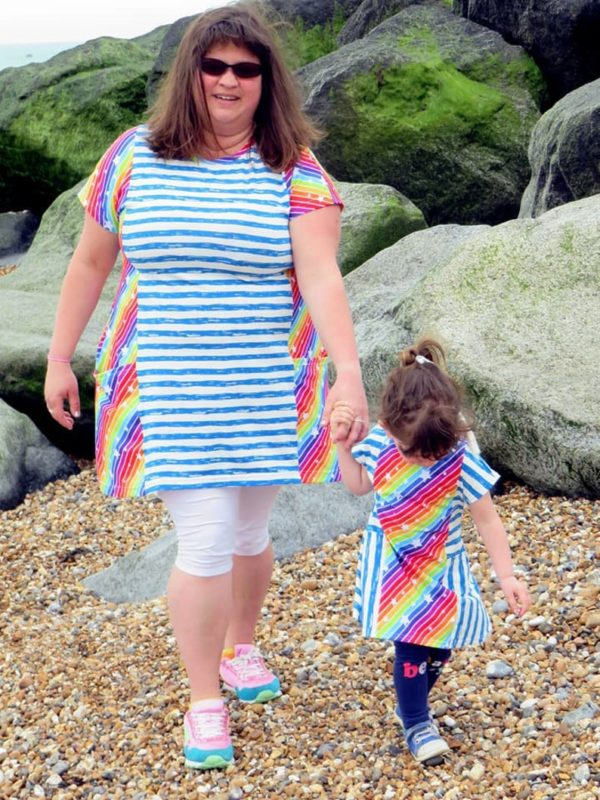 Made By Jack's Mum Beachcomber T-Shirt/Tunic/Dress Sewing Pattern (Adult)