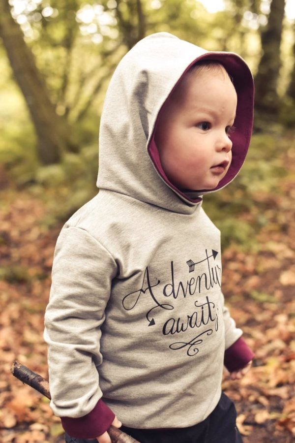 Made By Jack's Mum Hot Chocolate Hoody and Dress Sewing Pattern (Child's)