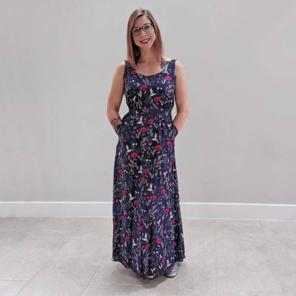 Experimental Space Rosalee Dress Sewing Pattern